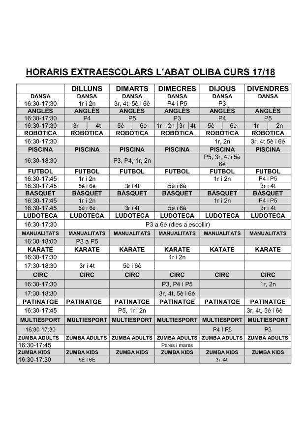 HORARIS EXTRAESCOLARS ABAT OLIBA 17-18 .jpg