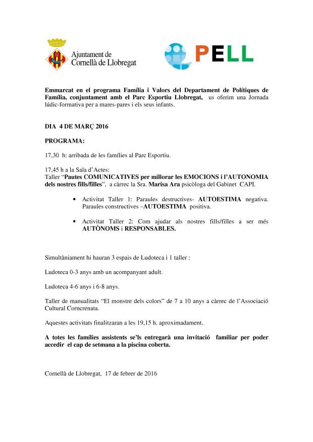 Programa Jornada Pell-2016