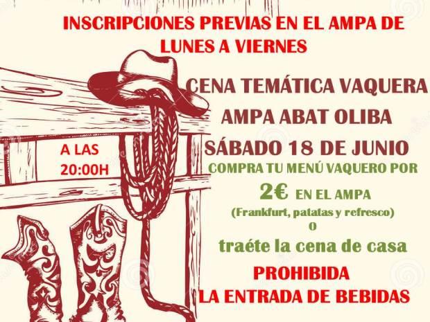 INSCRIPCIONES PREVIAS EN EL AMPA DE LUNES A 7